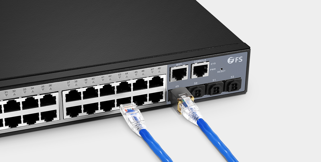 Cat5e Patchkabel Cat5e-Ethernet-Patchkabel für 1000Base-T-Netzwerk