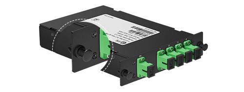 LGX Box PLC Splitter  Rounded Corners