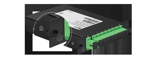 LGX Box PLC Splitter  Rounded Corners