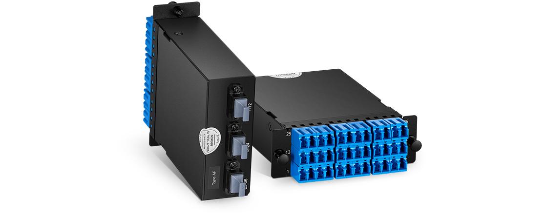 MTP®/MPO Fiber Cassettes Small Form Factor for Maximum Density