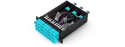 LWL-Kassetten  Corning ClearCurve OM4 Faser