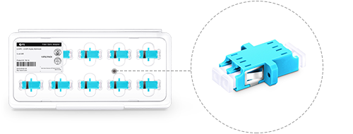 Fiber Adapters/Couplers  Elaborately Designed Package