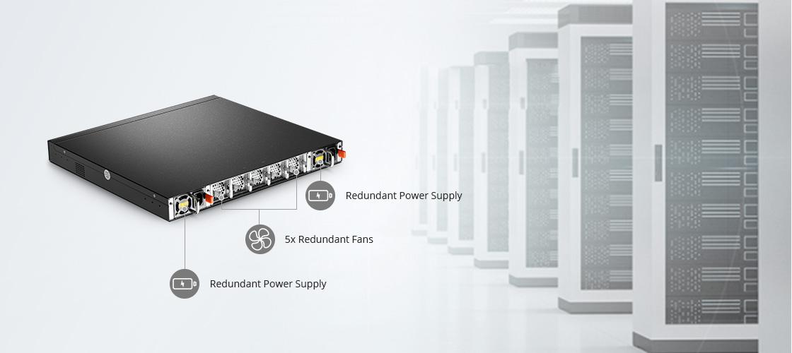 Switches 1G/10G Alta disponibilidad y eficiencia energética