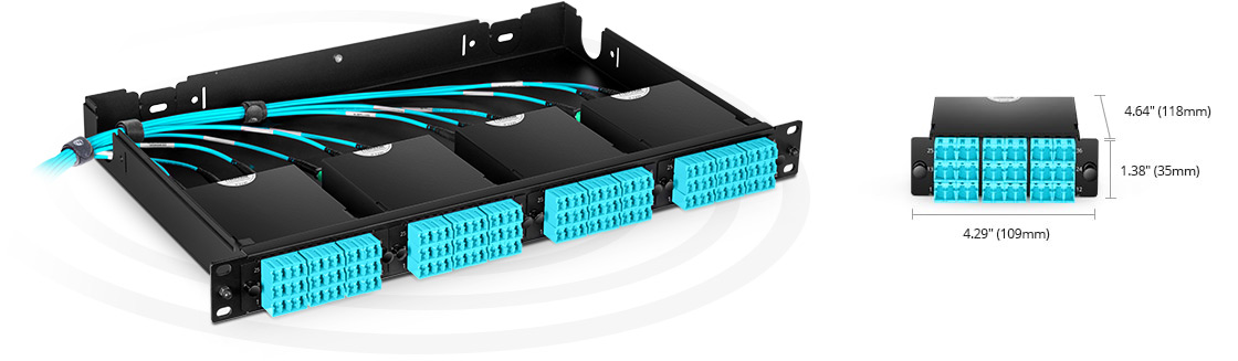 FHD MPO-LC Cassettes Rapid Deployment in Ultra High Density Applications