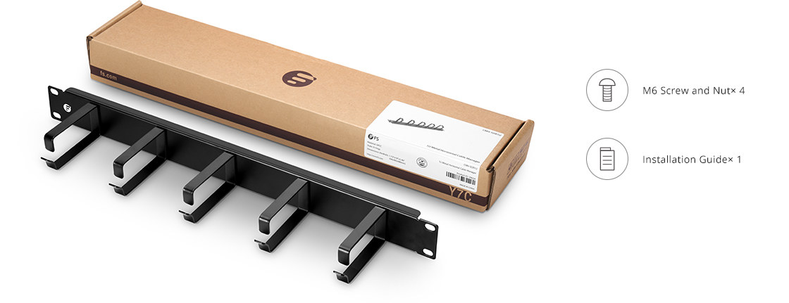 Horizontal Cable Managers A Kraft Paper Material Packaging