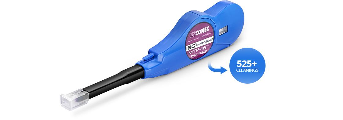 光ファイバ清掃用具 プッシュ式ポートクリーナー