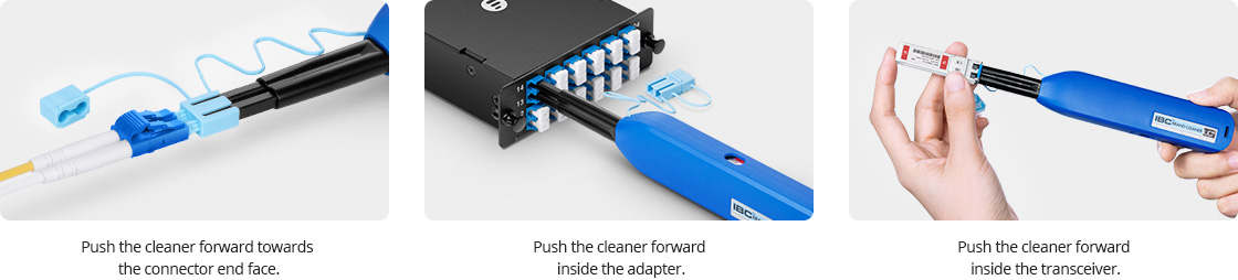 Fibre Optic Cleaning Cleaner Instructions