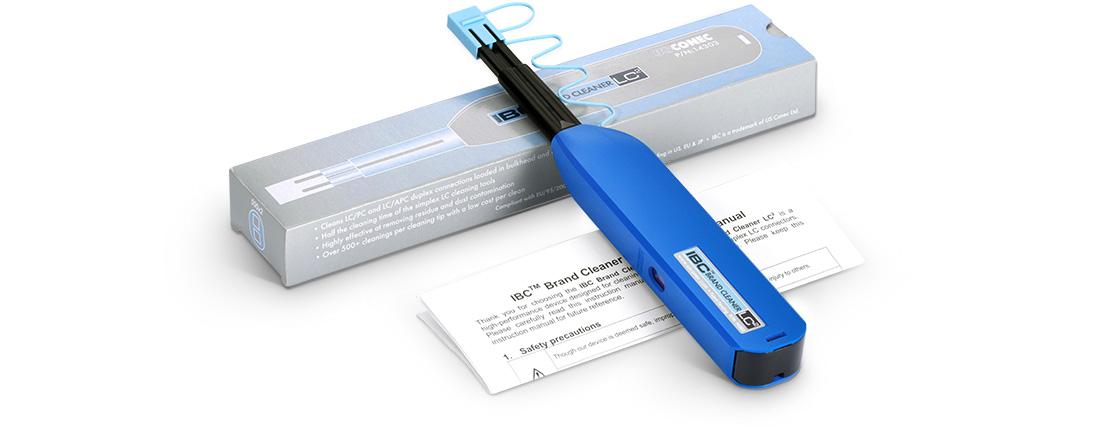 Nettoyage Fibre Optique Emballage de Protection avec Mode d'Emploi