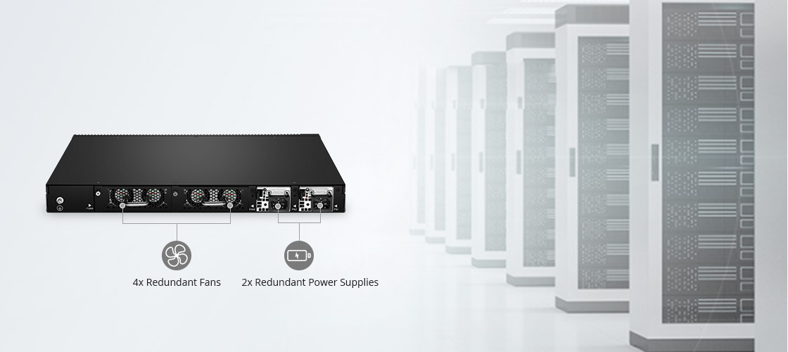 25G Switches High Availability and Power Efficient