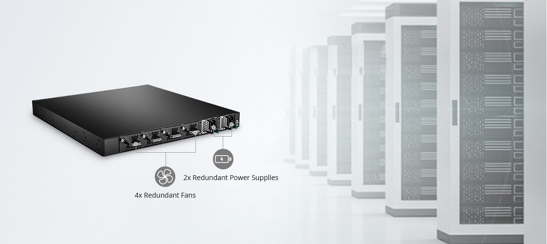 40G Switches High Availability and Power Efficient