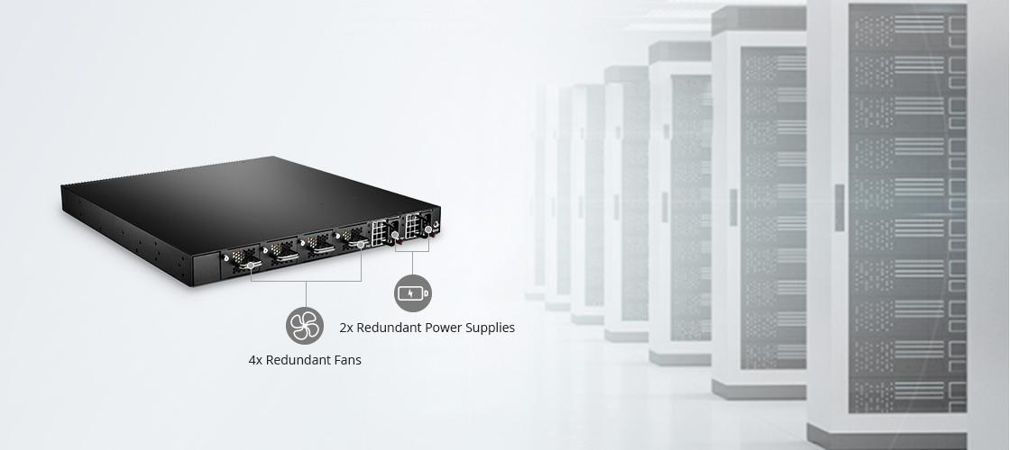 Switch 1G/10G Haute Disponibilité et Efficacité Energétique