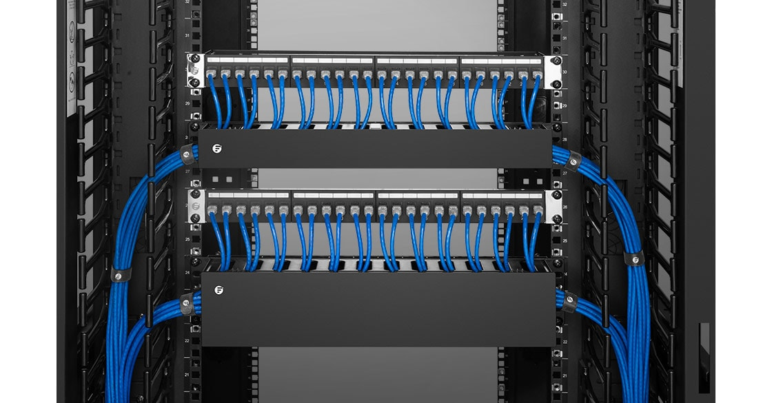 Horizontal Cable Managers Functional and Aesthetic Application