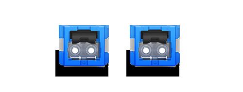 LWL-Adapter/Kupplung 1.25mm Führungshülse