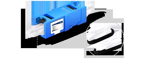 Оптические адаптеры/соединители Хорошая защита с пылезащитным колпачком