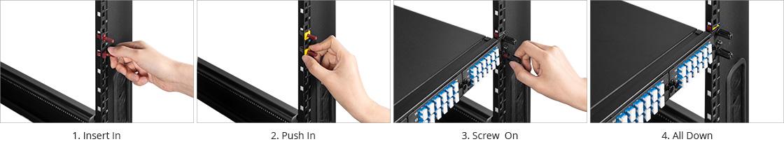 Shelves & Accessories Lightning-fast Installation