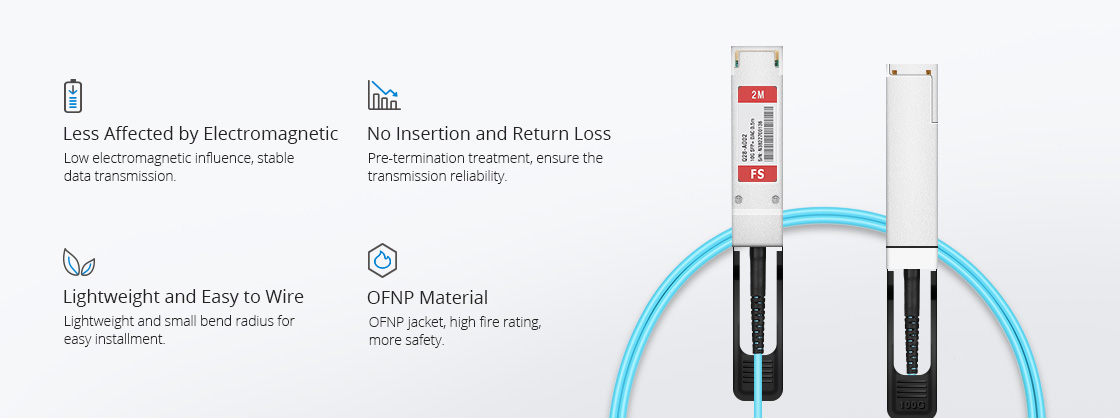 Juniper Câble Optique Actif de Haute Qualité