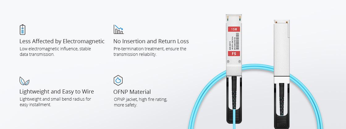 Dell (DE) Câble Optique Actif de Haute Qualité