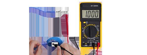 Accesorios para gabinetes Proceso seguro de descarga electrostática