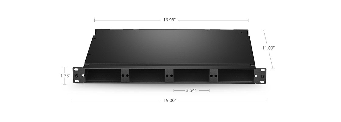 FHD Rack Mount Compact Design for Space Saving
