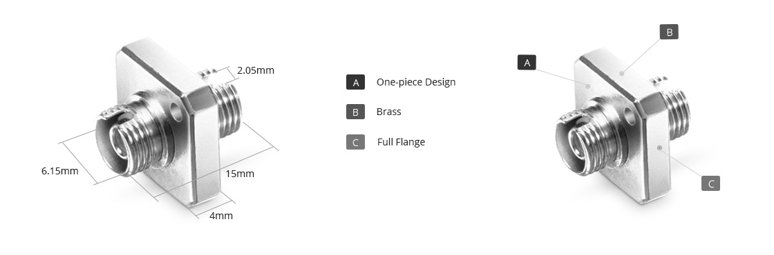 Fibre Adapters/Couplers Fiber Optical Adapter