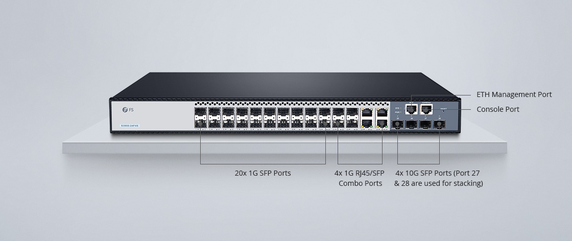 Switches 1G/10G Switch Gigabit con enlace ascendente 10G de alta velocidad