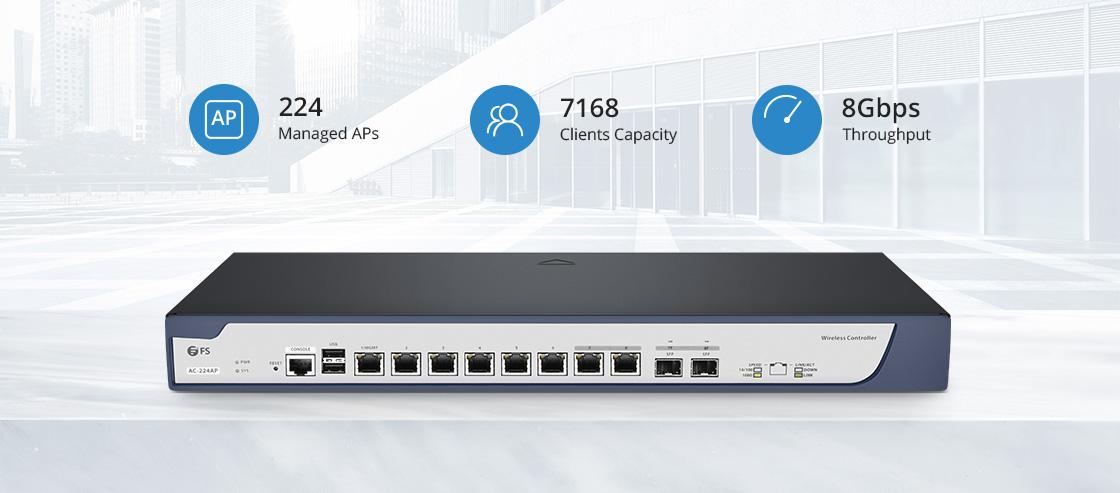 ワイヤレスLANコントローラー 堅牢なWi-Fiネットワーク、すべて管理下にある