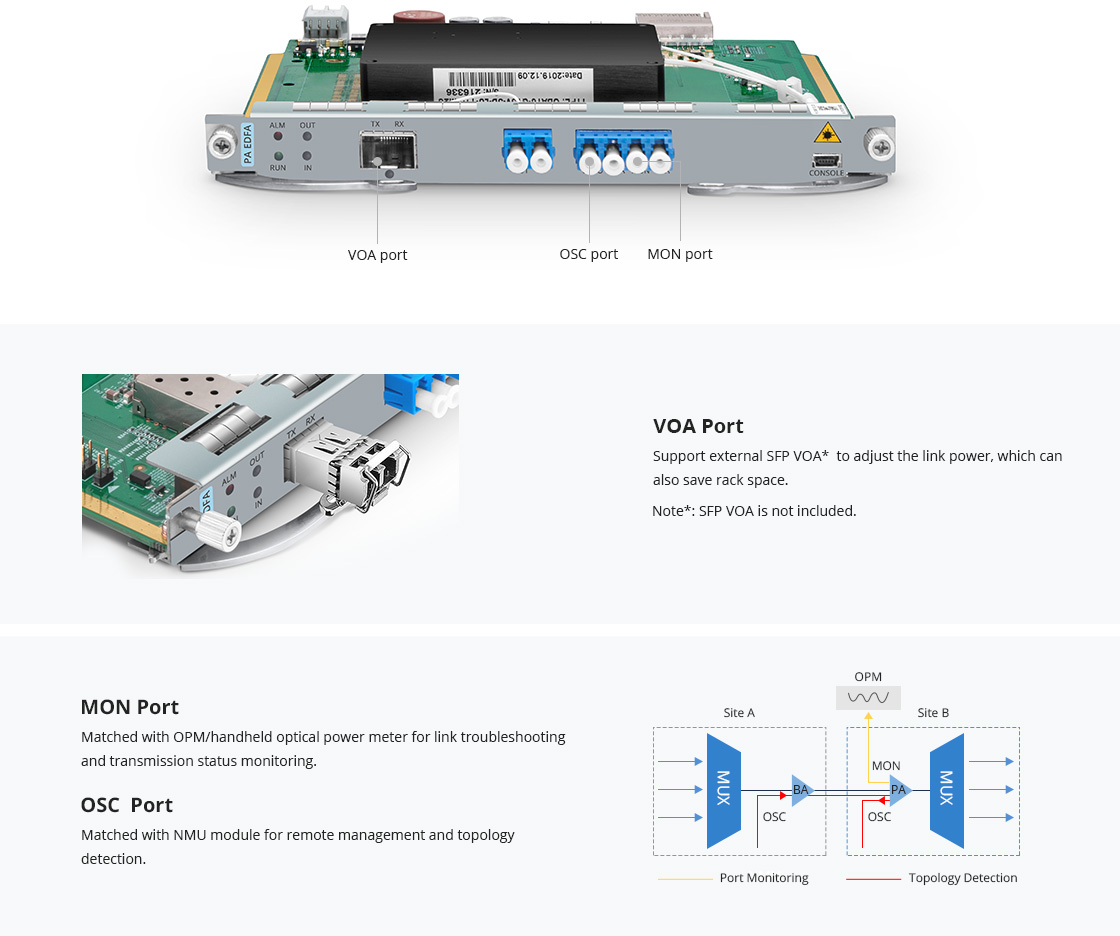 Modules d'Amplificateur Un Port Fonctionnel Hautement Intégré pour des Performances Fiables