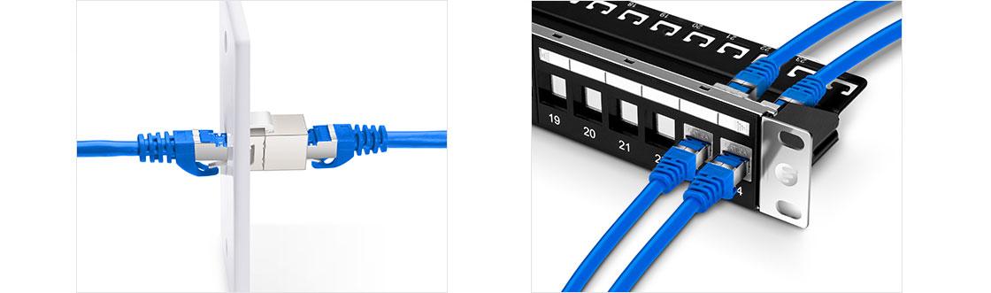 Inline-Kupplung Versatile Installation