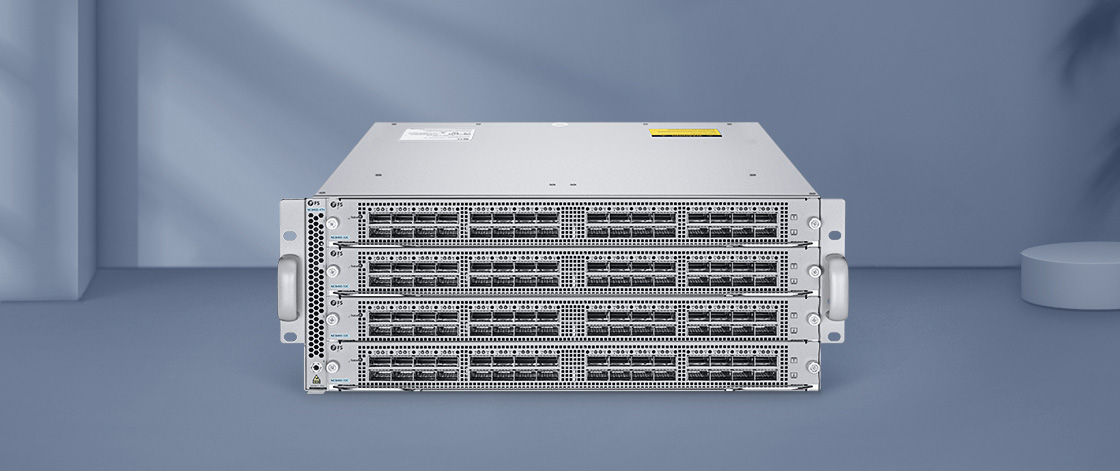 100G Switches High-Density Configurations with Switch Chassis