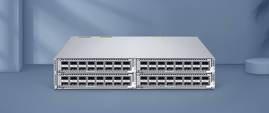 40G Switches Flexible Deployment with Switch Chassis