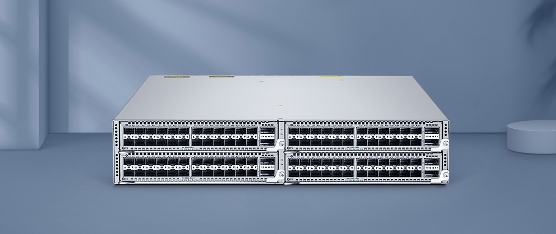 25G Switches Flexible Deployment with Switch Chassis