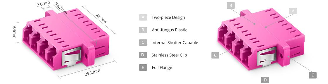 Fiber Adapters/Couplers Fiber Optical Adapter