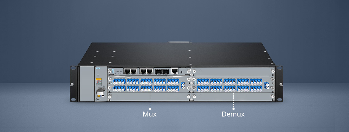 DWDM Mux Demux Mux and Demux Design For Easy Connection