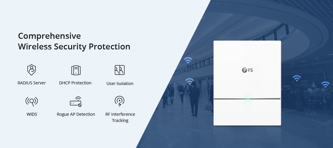 Wireless AP Advanced Wireless Security Protects Your Data