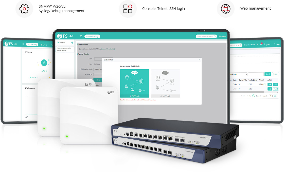 Wireless AP Manage It Your Way