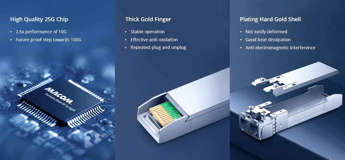 Cisco High Reliable Optical Components and Excellent Design