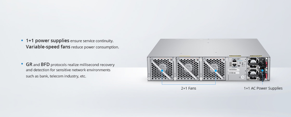 25G Switches Multiple Reliability Protection for Uninterrupted Services
