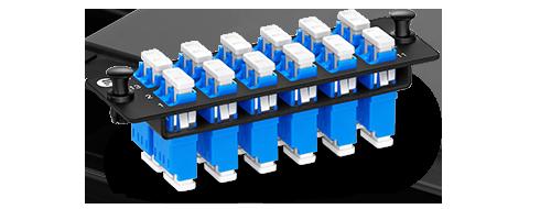 Fibre Optic Panels 3. TFC Fiber Optic Adapter without Flange