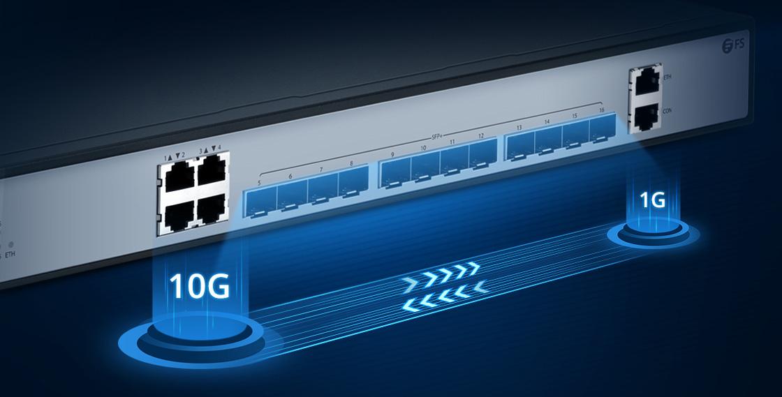 1G/10G Switches Gigabit LAN Aggregation Switch with 10G Uplinks
