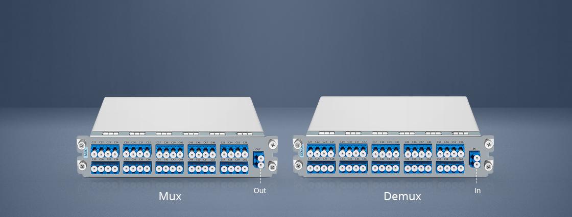 DWDM Mux Demux Mux und Demux für einfache Verbindung