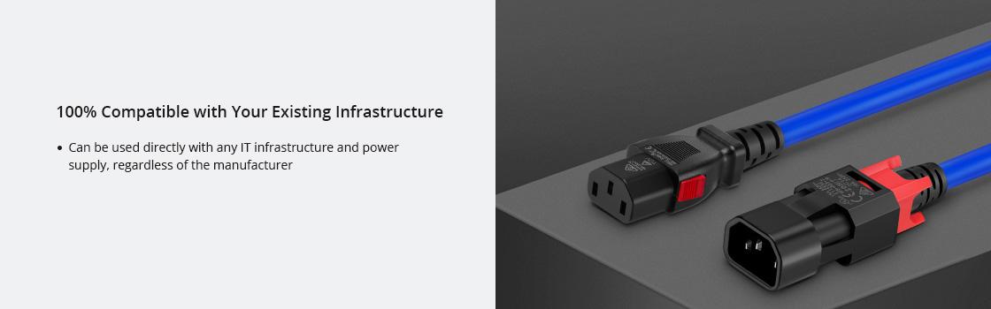 Z-Lock Locking Power Cords Superior Workmanship of Z-Lock Power Cords
