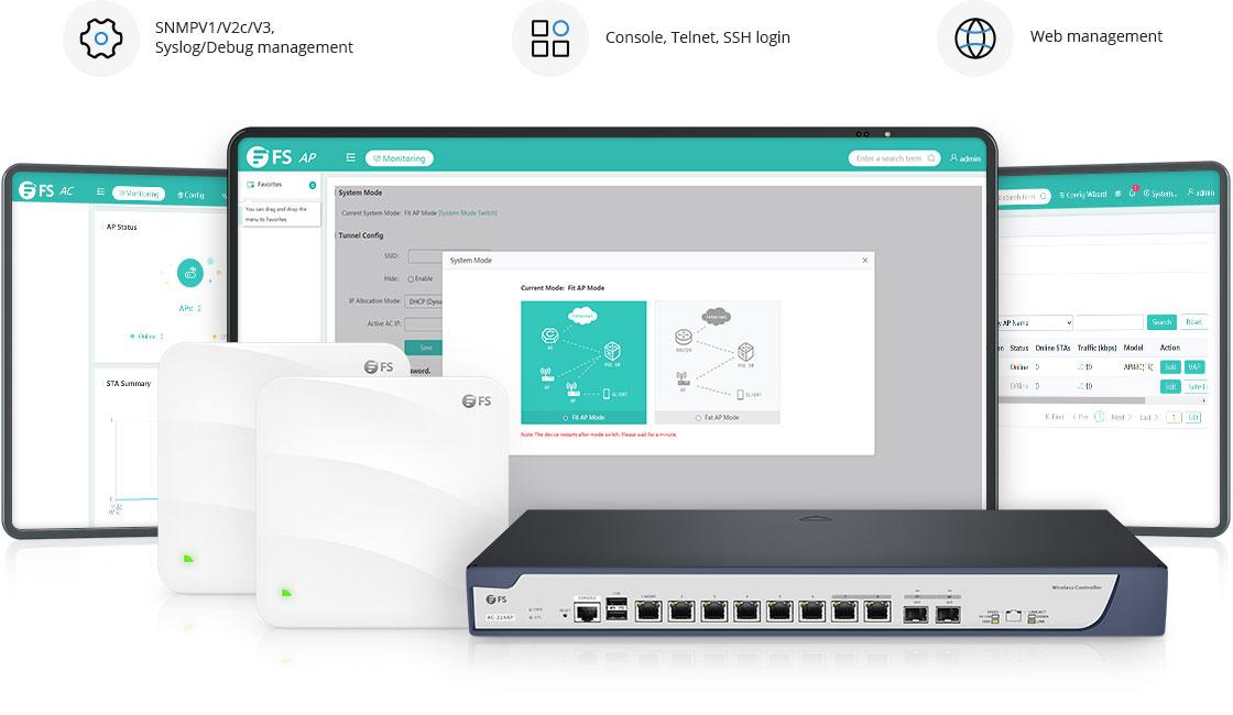 Wireless AP Verwaltung nach Ihren Anforderungen
