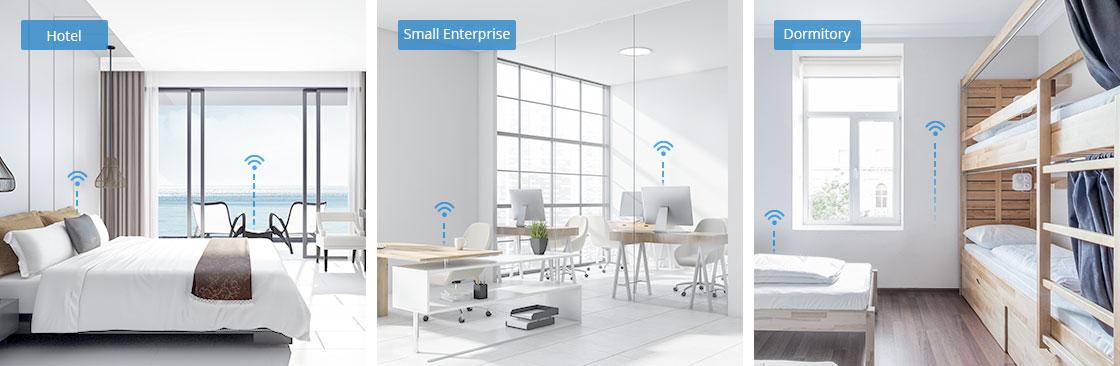 Wireless AP Montage nach Ihren Anforderungen