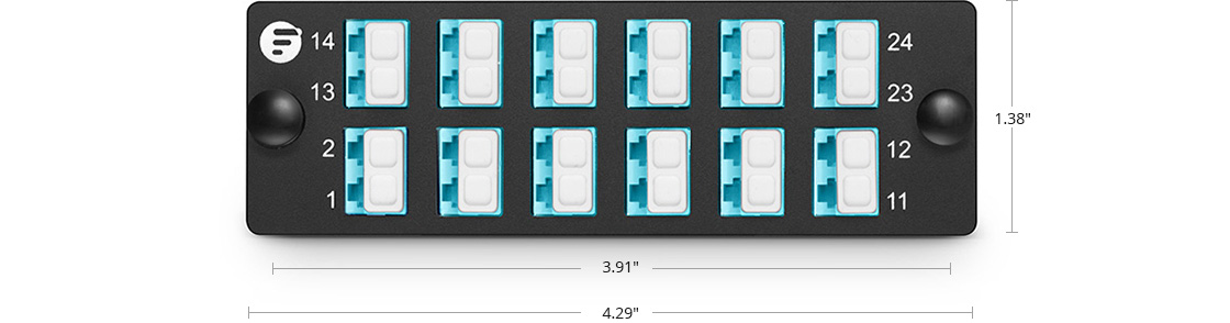 Fibre Optic Panels High Density Assemble Mounting - FHD Fiber Adapter Panel