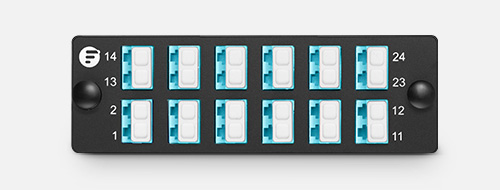 Fibre Optic Panels  2. Clear Numbering Labels