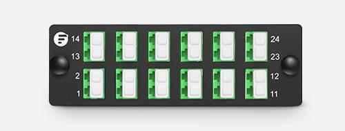 Fiber Optic Panels  2. Clear Numbering Labels