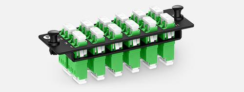 Fiber Optic Panels 3. TFC Fiber Optic Adapter without Flange
