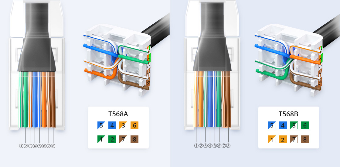 Outdoor Direct Burial Bulk Ethernet Cables Easy Installation with RJ45 Connectors and Toolless Keystone Jack