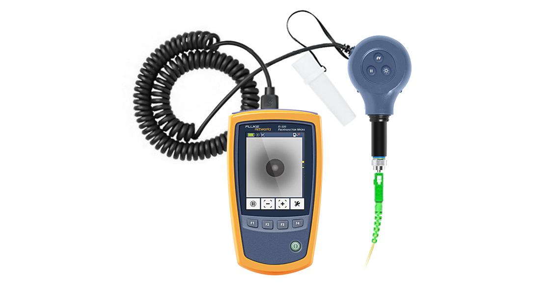 光ファイバ検査装置 FI-500 FiberInspector™ Micro ファイバー端面検査スコープカメラ