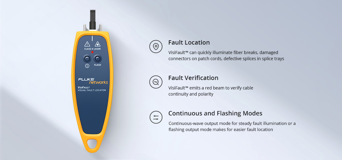 Visual Fault Locators Easily Operated and Cost-Effective Visual Fault Locator